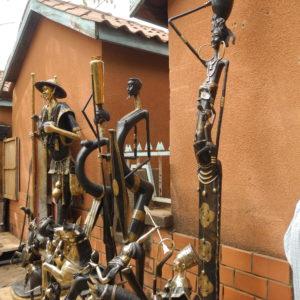 Rzeźby z brązu